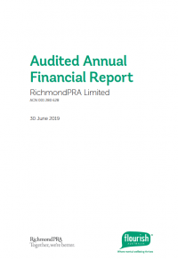 The directors present their report for RichmondPRA Limited hereby known as RichmondPRA, the consolidated entity consisting of RichmondPRA and its wholly owned subsidiary (RichmondPRA Services Limited) for the year ended 30 June 2019.